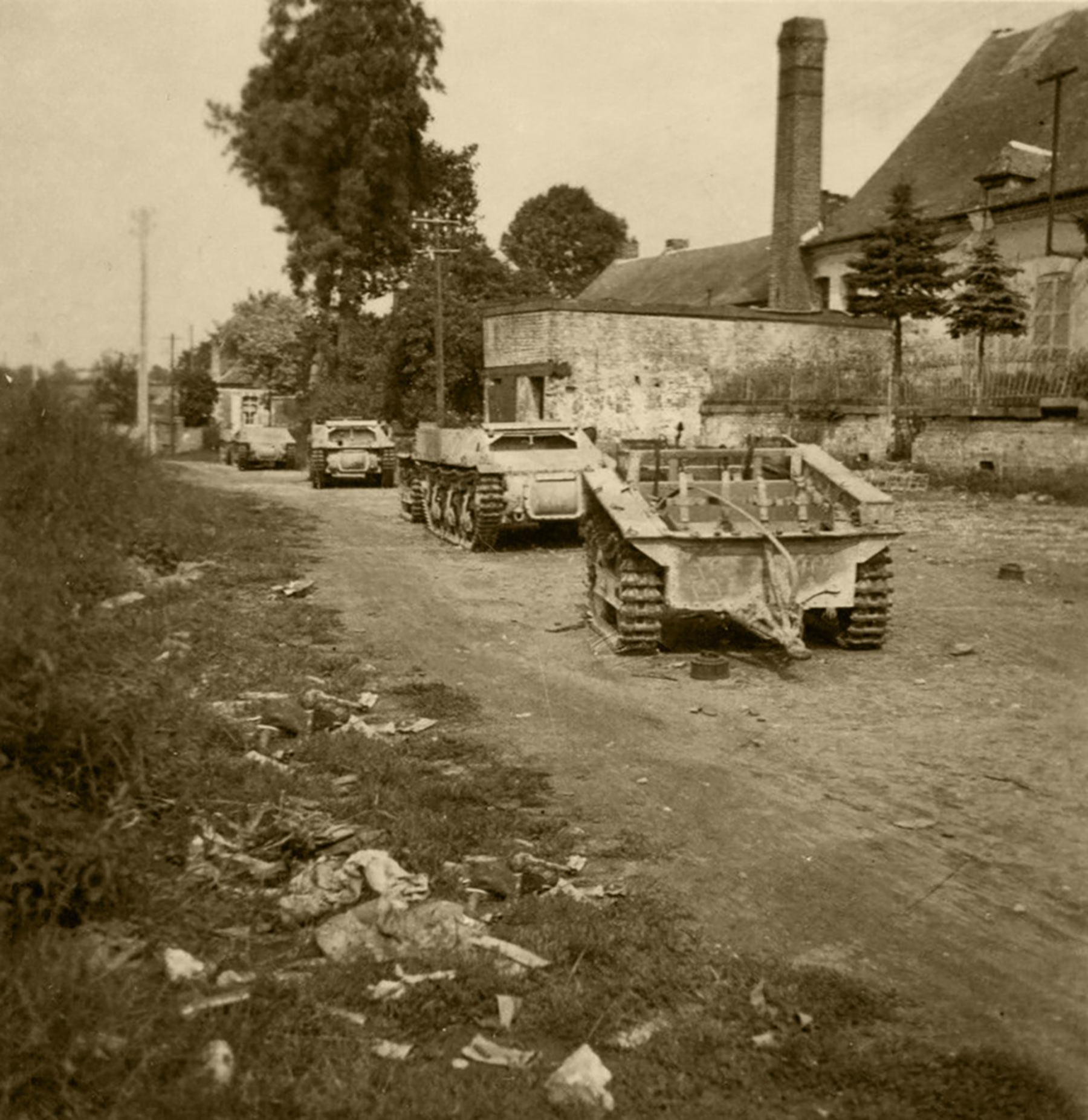 French tanks destroyed during the battle of France 1940 ebay 01