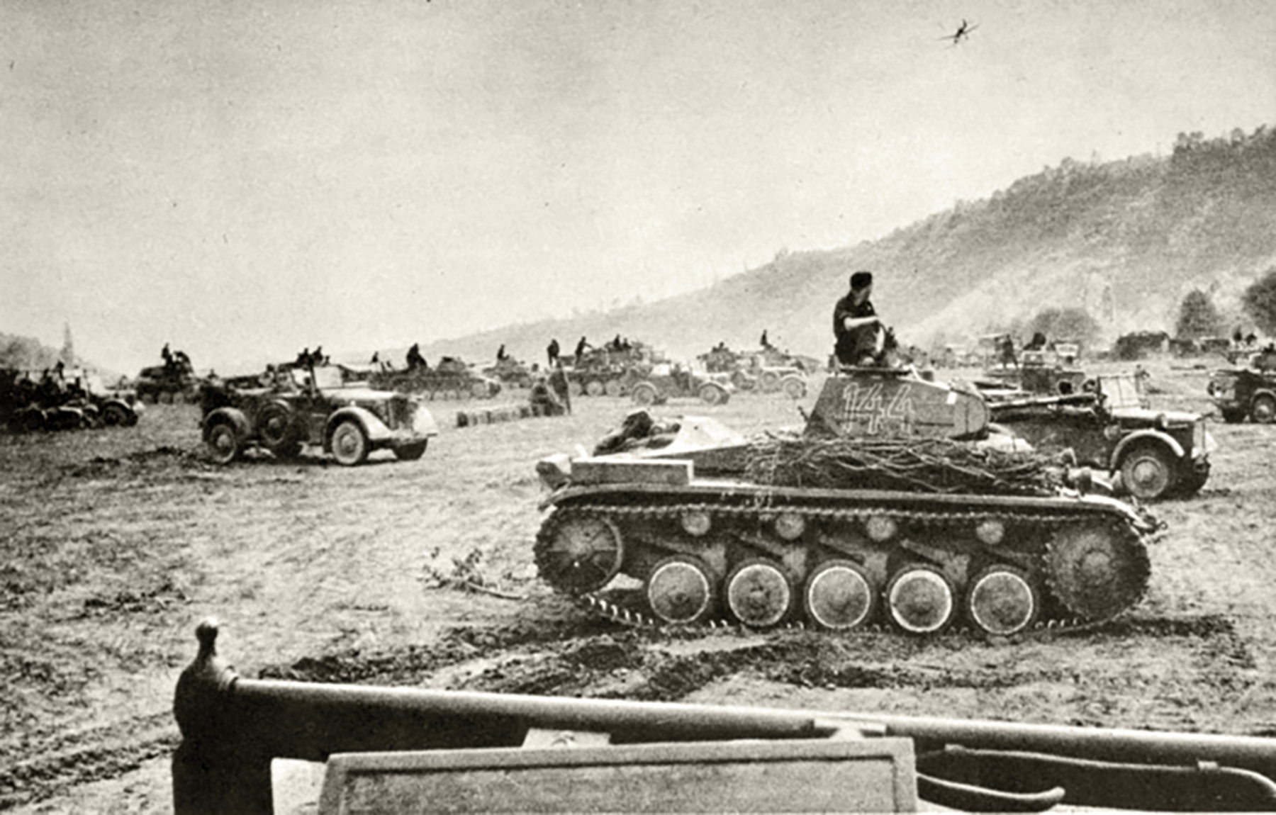 The Blitzkrieg was the main offensive tactic used by the Wehrmacht on the drive to Paris France 1940 01
