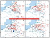 Asisbiz A map shows evolution of German plans for Fall Gelb the invasion of the Low Countries wiki 0A