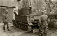 Asisbiz Belgian T 13 tank destroyer is inspected by German soldiers 1940 wiki 01