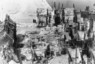 Asisbiz Devastation of Calais in ruins 1940 wiki 01