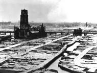 Asisbiz Devastation of Rotterdam by the Luftwaffe shows the city centre after the bombing wiki May 1940 01