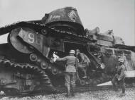 Asisbiz French Army Char 2C or FCM 2C heavy tank destroyed during battle of France 1940 ebay 01