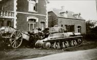 Asisbiz French Army Hotchkiss H35 left abandoned near a French village battle of France 1940 ebay 01