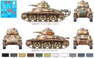 Asisbiz French Army Hotchkiss H35 profile during battle of France 1940 web 0B