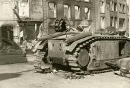 Asisbiz French Army Renault Char B1 knocked out during the battle of France 1940 ebay 01