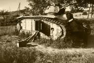 Asisbiz French Army Renault Char B1 named Bretagne Brittany being disarmed France 1940 ebay 01