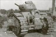 Asisbiz French Army Renault Char B1 named Hardi 238 abandoned during the battle of France 1940 ebay 01