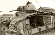 Asisbiz French Army Renault Char B1bis knocked out Souilly France 1940 ebay 01
