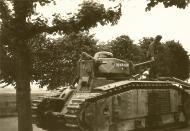 Asisbiz French Army Renault Char B1bis named Bourrasque I 491 abandoned battle of France ebay 01
