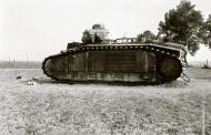 Asisbiz French Army Renault Char B1bis named Quincy abandoned near the Belgian town of Flavion 1940 ebay 01