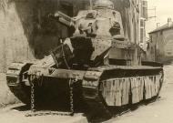 Asisbiz French Army Renault Char D1 abandoned during the Weygand Plan France 1940 ebay 01