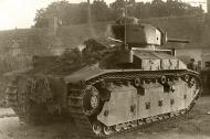 Asisbiz French Army Renault D2 tank abandoned battle of France 1940 web 01