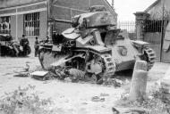 Asisbiz French Army Renault D2 tank named LALMA knocked out by German forces May Jun 1940 01