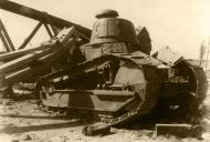 Asisbiz French Army Renault FT 17 captured during the Battle of France 1940 NIOD