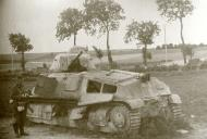 Asisbiz French Army Somua S35 White 36 abandoned along a roadside France June 1940 ebay 02