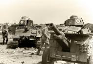 Asisbiz French Army Somua S35 White 64 n White 81 abandoned near Dunkirk France 1940 wiki 01