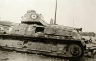 Asisbiz French Army Somua S35 White 81 abandoned along a roadside France June 1940 ebay 01