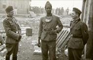 Asisbiz French soldier is sectioned out for a photo which carries many innuendos BOF 1940 ebay 01
