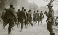 Asisbiz French soldiers being marched towards internment June 1940 ebay 01