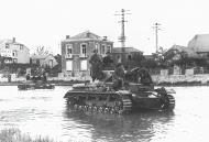 Asisbiz Wehrmacht Panzer III tanks advancing into Belgium 20th May 1940 NIOD