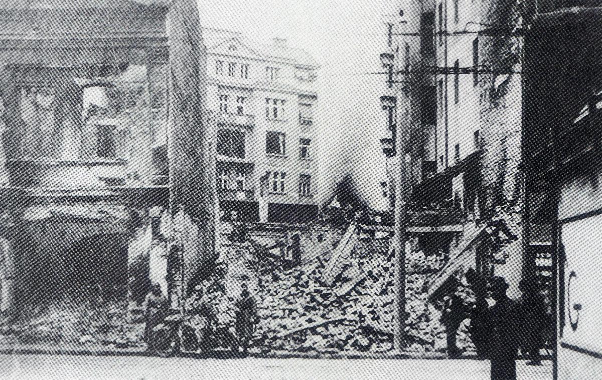 German air attacks on Belgrade 1941 02