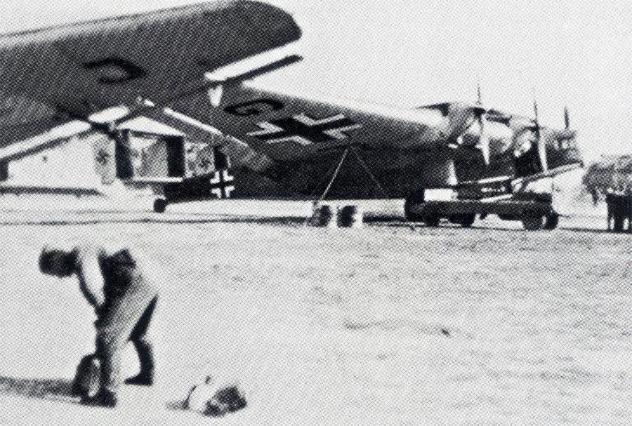 Junkers G 38s KGzvbV 172 Greece 1941 01