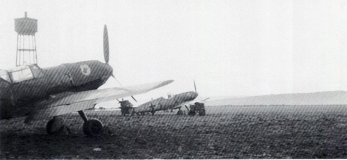 Messerschmitt Bf 109E3s belonging to III.JG77 Deta 1941 01
