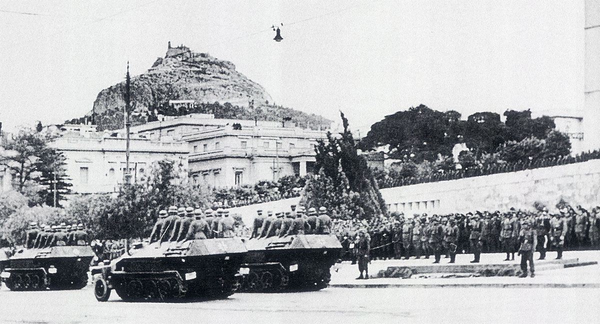 The Wehrmacht on parade after after its victorious Balkans campaign 1941 01