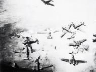 Unternehmen Merkur Junkers Ju 52 3mg4e wrecked on Maleme AF Crete 1941 02