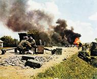 Asisbiz German 122nd Infantry Division anti tank gunners holding off a Soviet counterattack on the Minsk 01