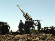 German Artillery 88mm pointing skywards 01