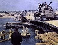 Asisbiz German Panzer Column move across the Don 1942 01