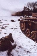 Asisbiz German Panzers advancing under fire Eastern Front 04