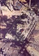German Pazerkampfwagen III Ausf. H profile view 01
