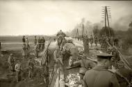 Asisbiz Russian soldiers making repairs to a bridge as supplies are moved to the front lines 02