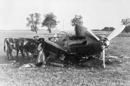 Soviet AF Mig 3 destroyed on the ground during Operation Barbarossa 1941 01