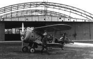 Soviet AF Polikarpov I 153 Chaika sits abandoned on a Russian airfield Barbarossa 1941 01