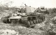 Asisbiz Soviet KV 1 Heavy Tanks near Leningrad 1941 01