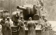 Asisbiz Soviet KV 2 heavy tank captured by German forces 1941
