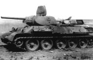 Asisbiz Soviet T 34 tanks abandoned after a battle with German forces 01
