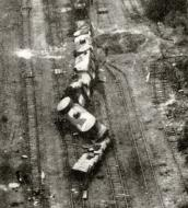 Soviet armored train destoryed by Stukas Barbarossa 01