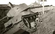 Asisbiz Soviet tanks lie abandoned after fighting with German forces at Dubno Poland July 1941 01