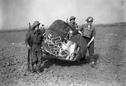 11 Remains of a Messerschmitt 110 shot down by fighters Essex England Sep 3 1940 01