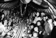 42 London children celebrate Christmas in an underground shelter Dec 25 1940 01