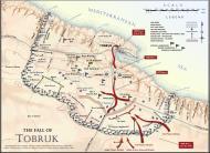 Asisbiz A Map showig the fall of Tobruk 1942 0A