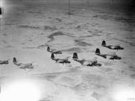 Asisbiz British Boston III SAAF 12Sqn from their base at Bir el Beheira Libya IWM CNA2919