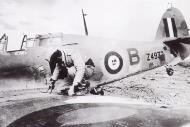 Asisbiz British Hurricane RN 806NAS B Sub Lt MF Fell Z4932 based Aboukir was shot down by JG27 Otto Schutz 01