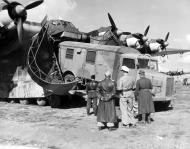 Asisbiz Luftwaffe heavy transport aircraft Messerschmitt Me 323 being loaded up 01