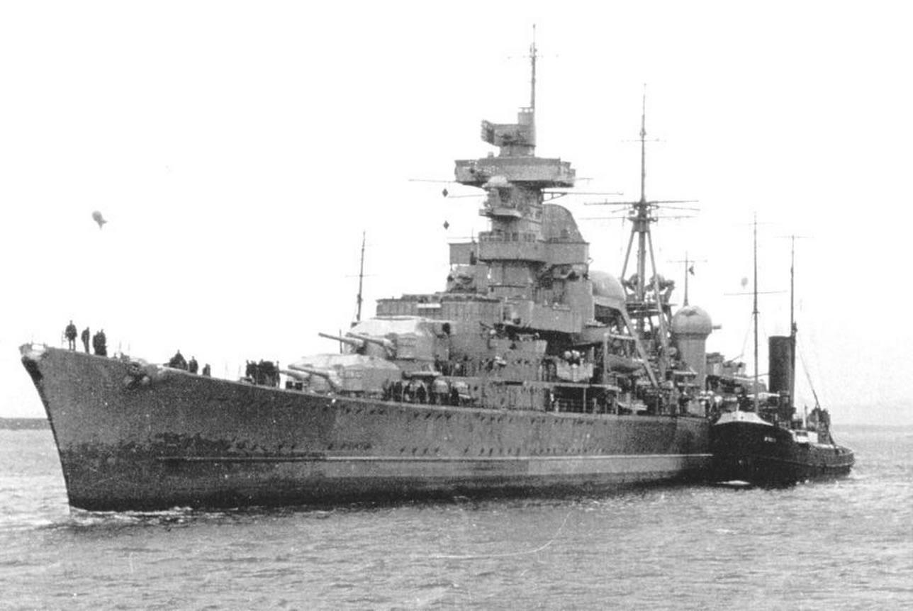 Kriegsmarine Cruiser KMS Prinz Eugen 09